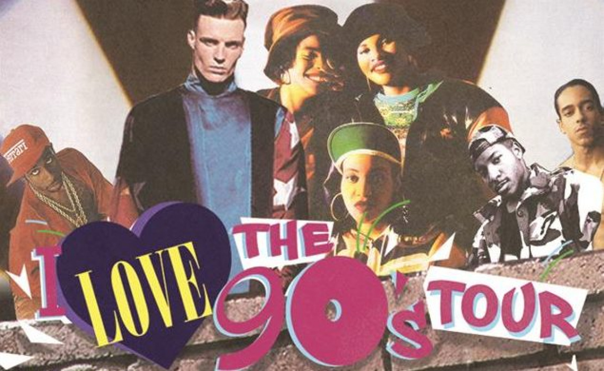 "Enter online to 2 Tickets to ""I love the 90's Tour"""